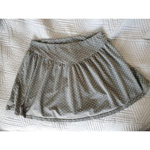 SWS polka dot mini skirt